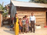 Poor people in Chongkaosour village
