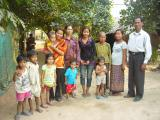 Poor people in Kok Beang village, Siem Reap