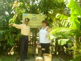 Founder & donor at water well, Siem Reap
